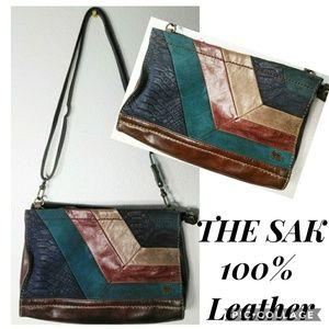 THE SAK 100% Leather Satchel Handbag